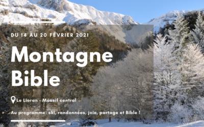 Montagne Bible – Annulé