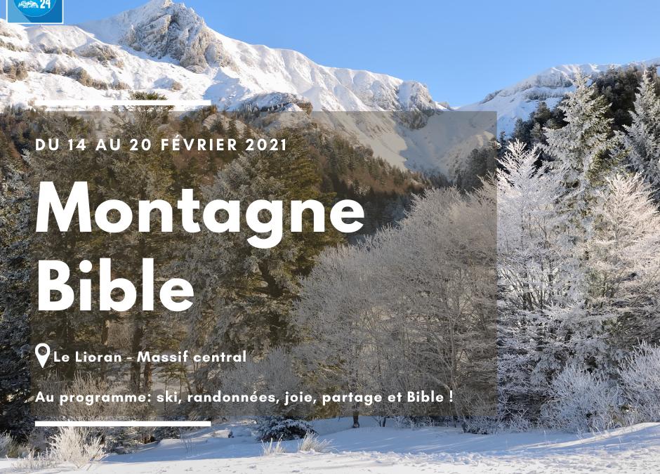 Montagne Bible – Inscriptions ouvertes